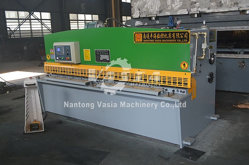 QC12Y Hydraulic Swing Beam Shearing Machine